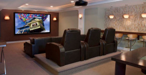 media room furniture seating