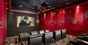 movie room wall decor