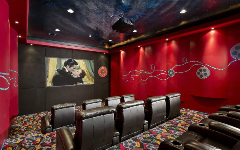 Movie Room Wall Decor Interesting Ideas For Home