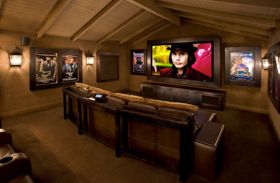 movie theater room decor