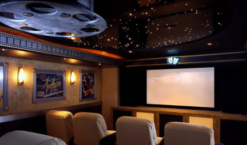 movie theater style decor