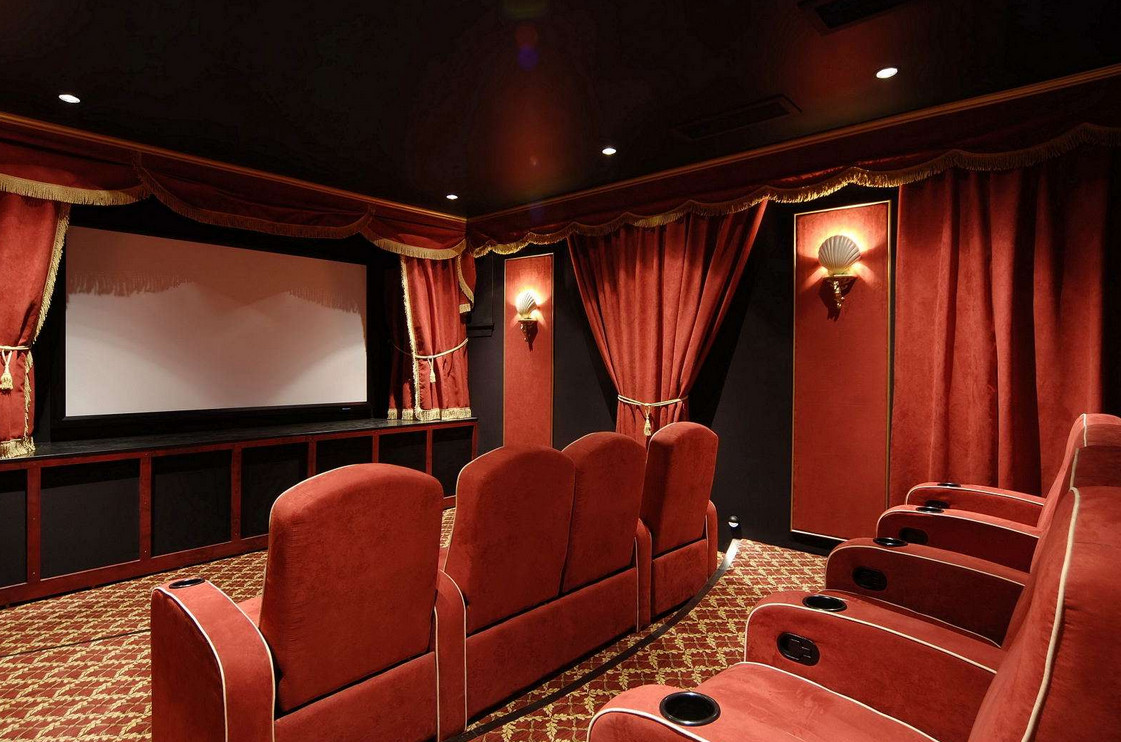 movie theater themed decorations