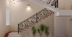 ornamental iron stair railings