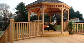 outdoor deck gazebos