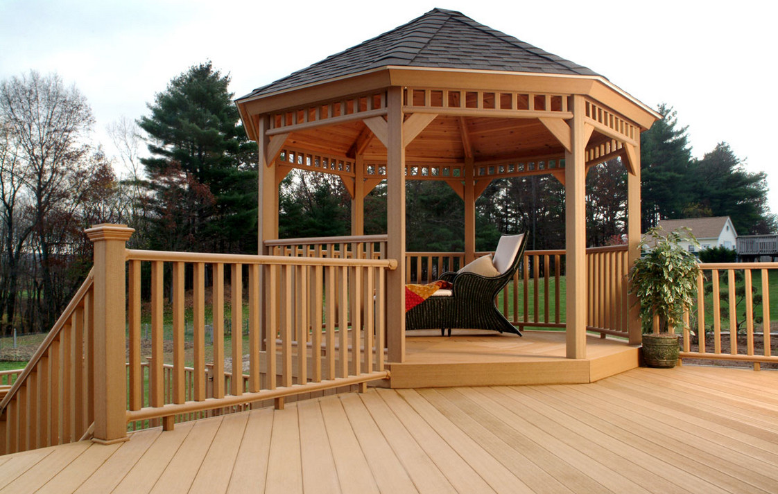 Outdoor Deck Gazebos Interesting Ideas For Home