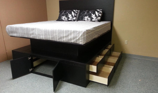 raised bed frame with drawers raised bed frame interesting ideas for home raised queen - Raised Bed Frame