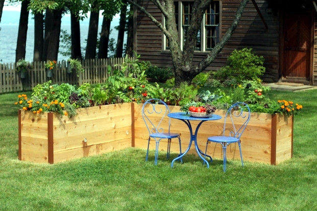 Raised Flower Beds Designs Interesting Ideas For Home