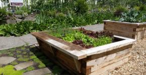 raised garden box designs