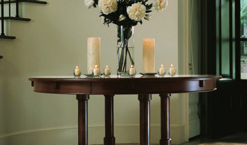 stunning decorating foyer table contemporary - house design ideas