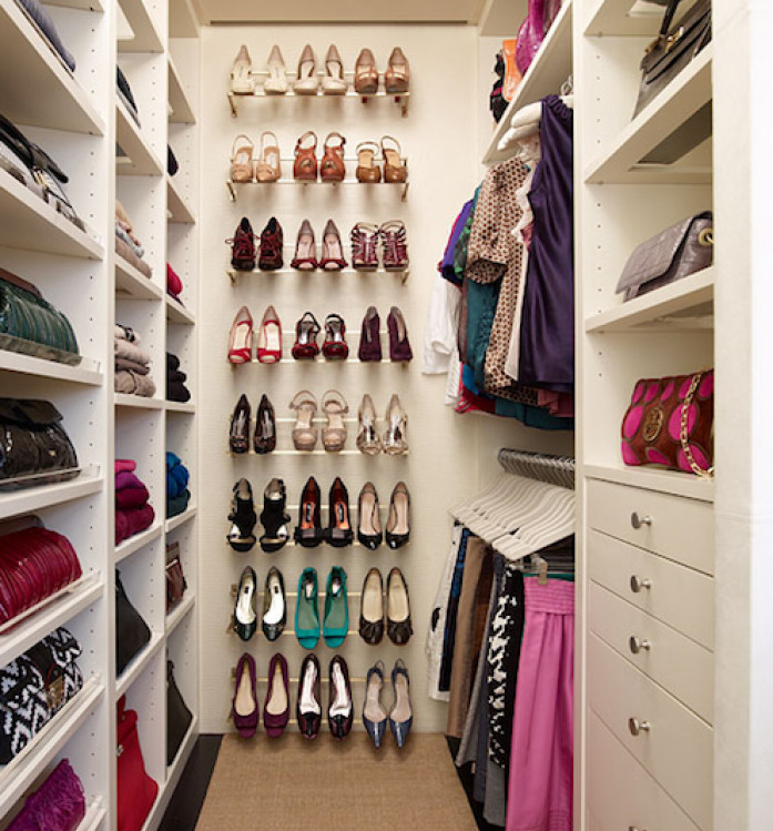 small closet shoe storage ideas