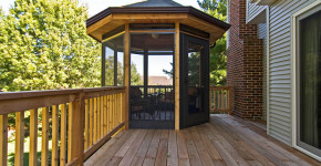 small gazebo for deck