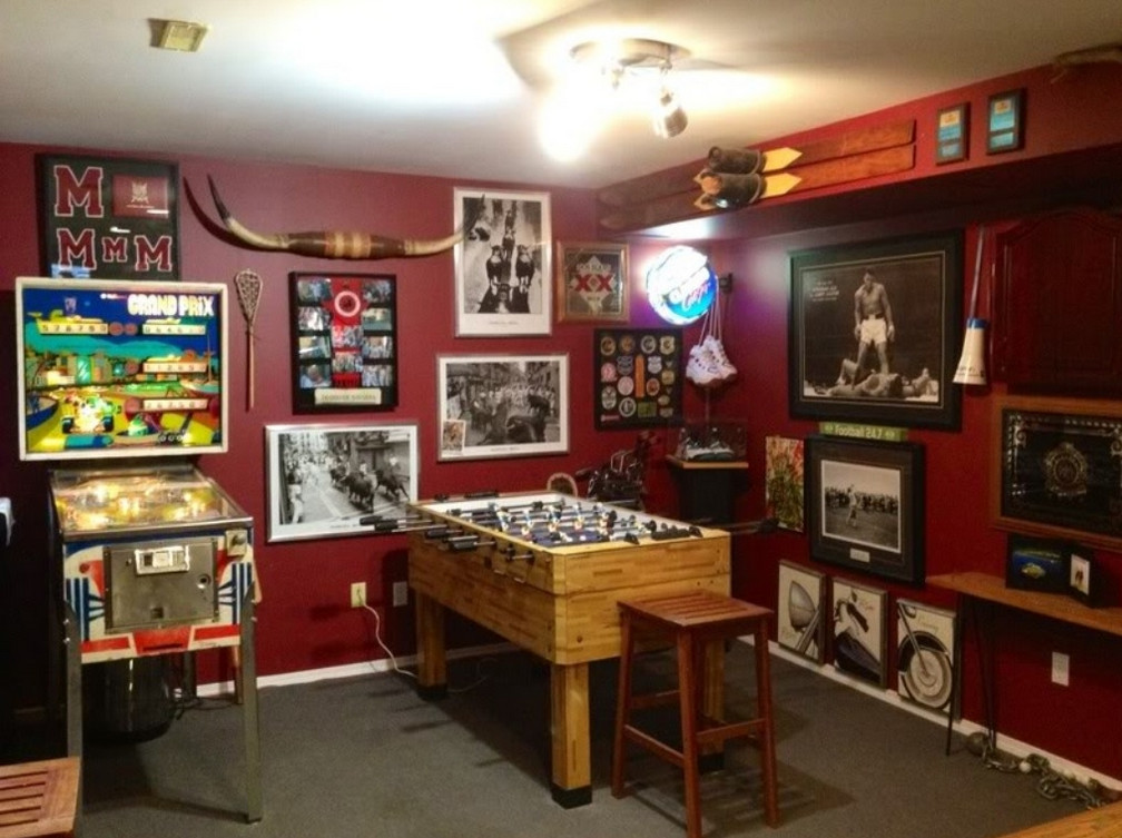 Small Home Game Room