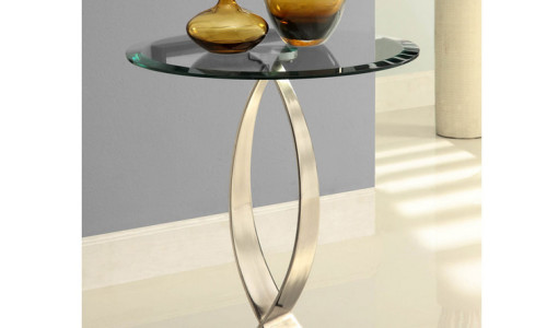 Small Round Entry Table