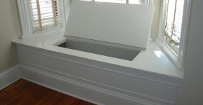 Storage Bench Window Seat
