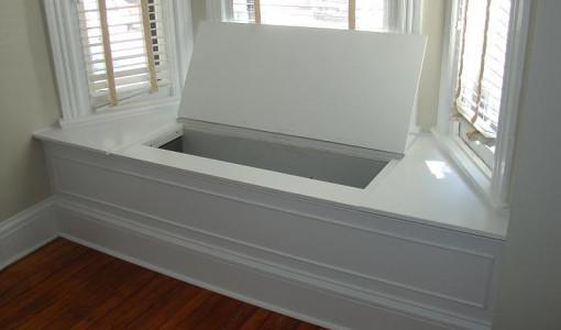 Storage Bench Window Seat