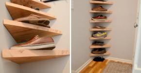 vertical shoe rack plans