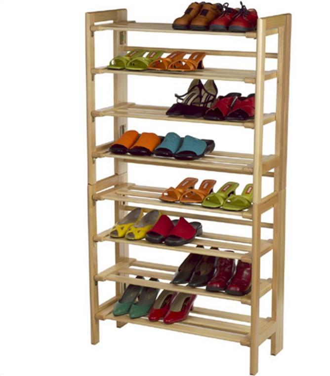 vertical shoe rack interesting ideas for home. Black Bedroom Furniture Sets. Home Design Ideas