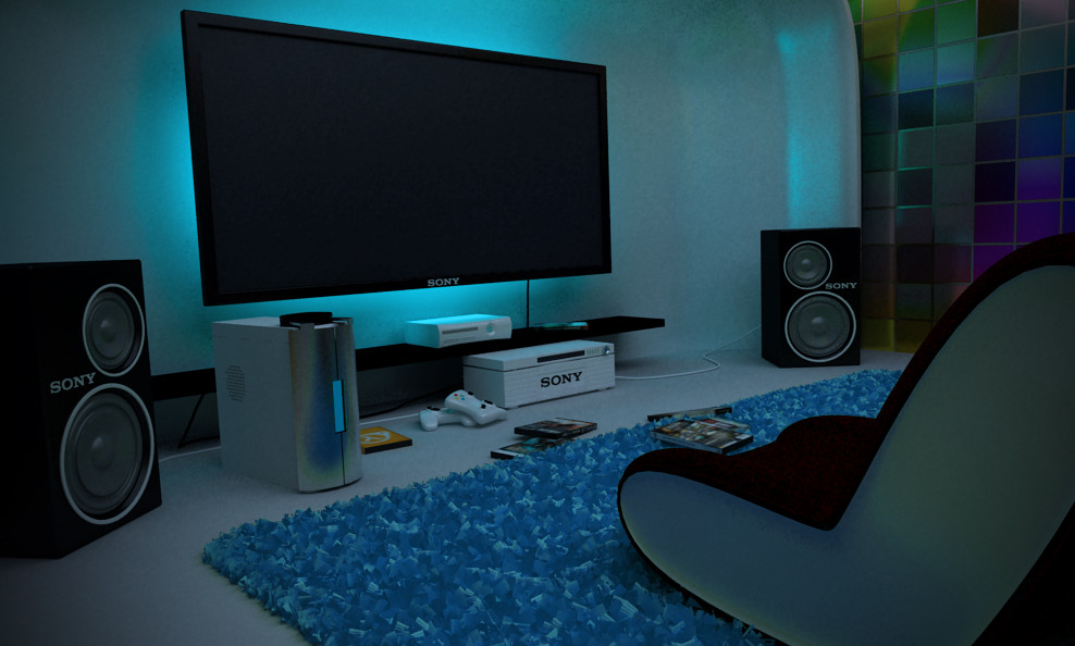 Video Game Room Furniture
