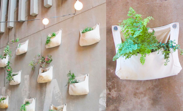 wall mounted planter ideas