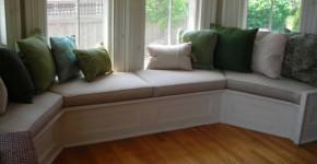 window bench seat ideas