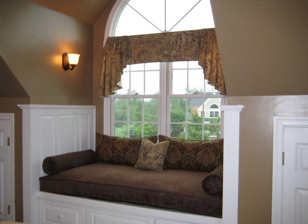 Wooden Window Bench