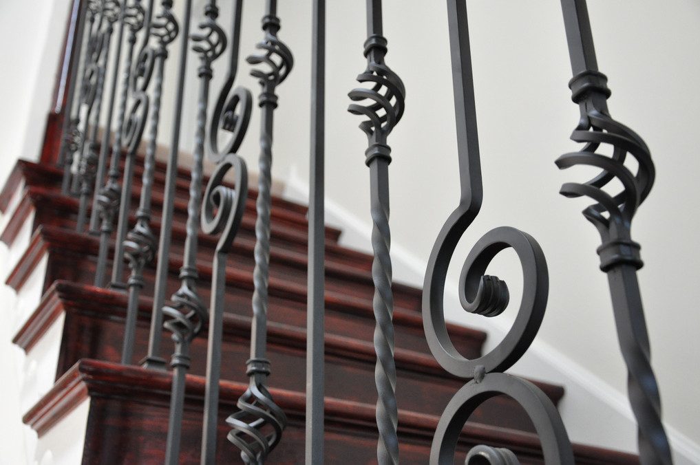 wrought iron baluster designs