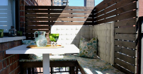 Apartment Patio Privacy Screen