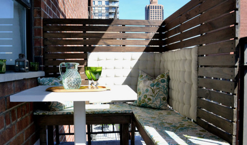 Privacy screen ideas interesting ideas for home - Apartment patio privacy ideas ...
