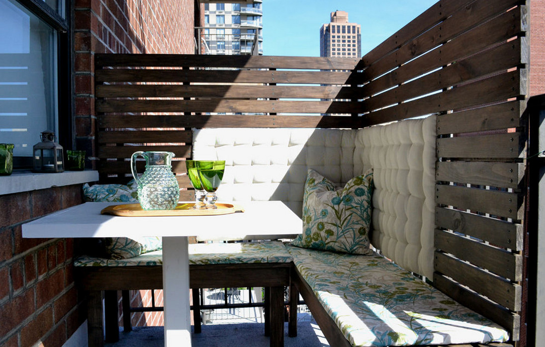 apartment patio privacy screen - Apartment Patio