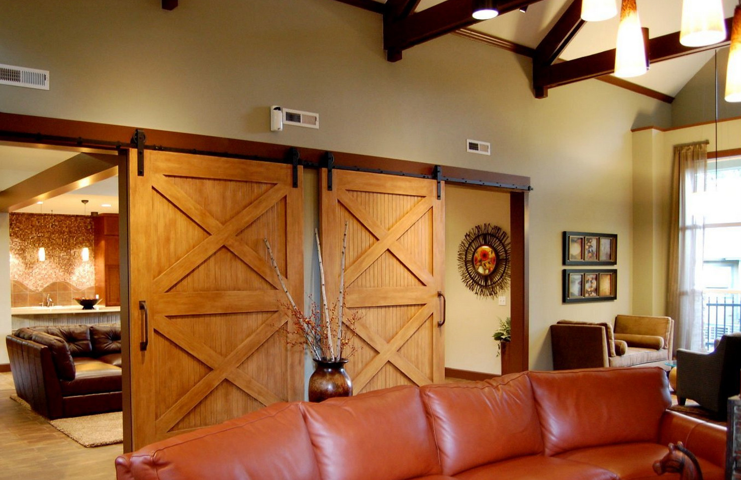 Barn Door Room Divider  3