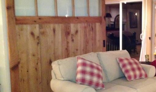 Barn Door Room Divider