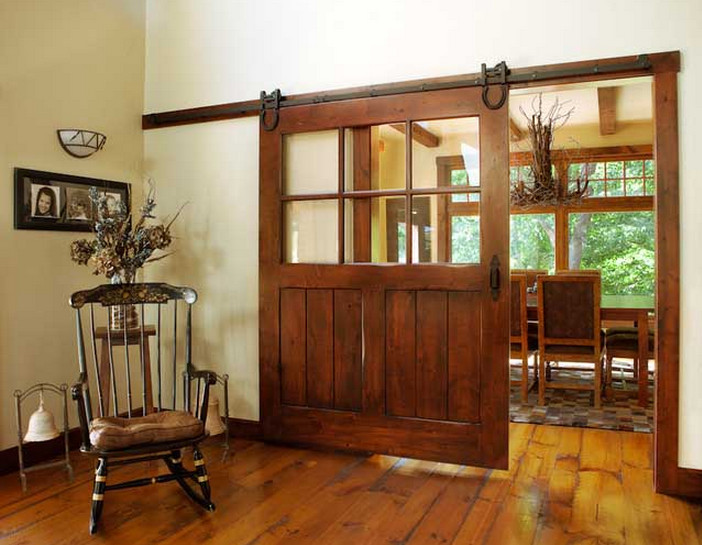Barn Door Room Divider  6