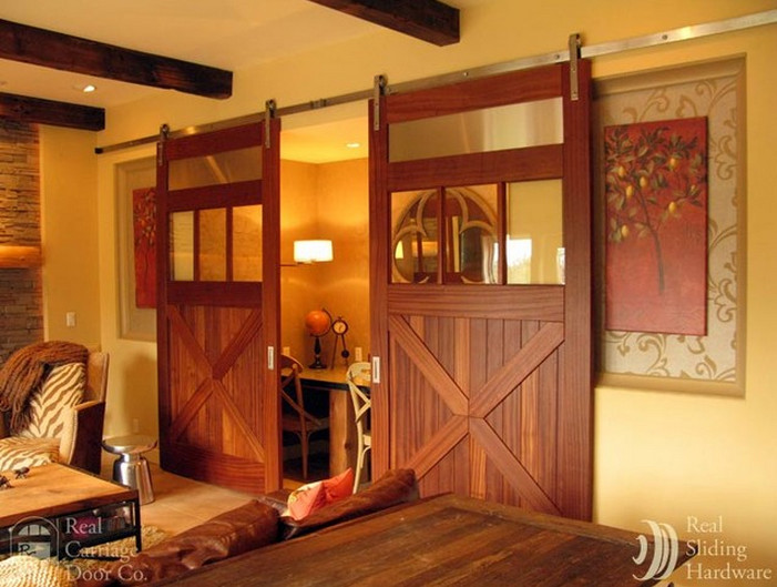 Barn Door Room Divider  7