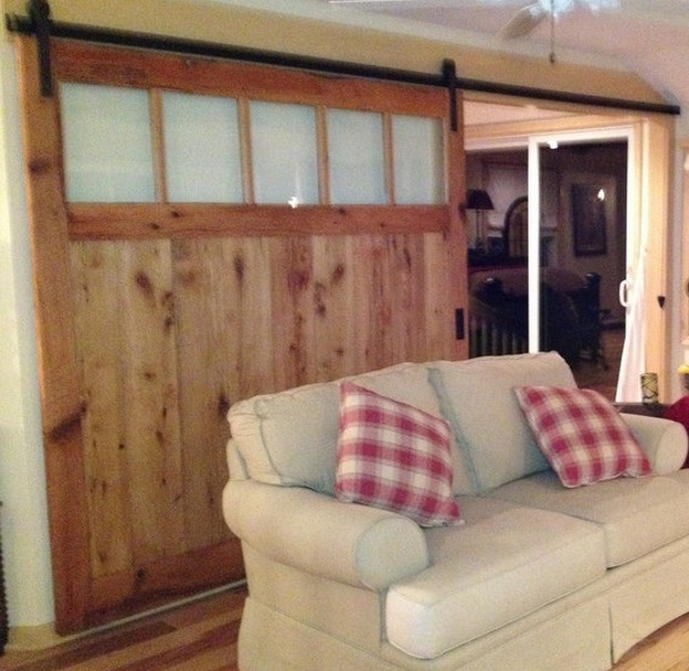 Barn Door Room Divider