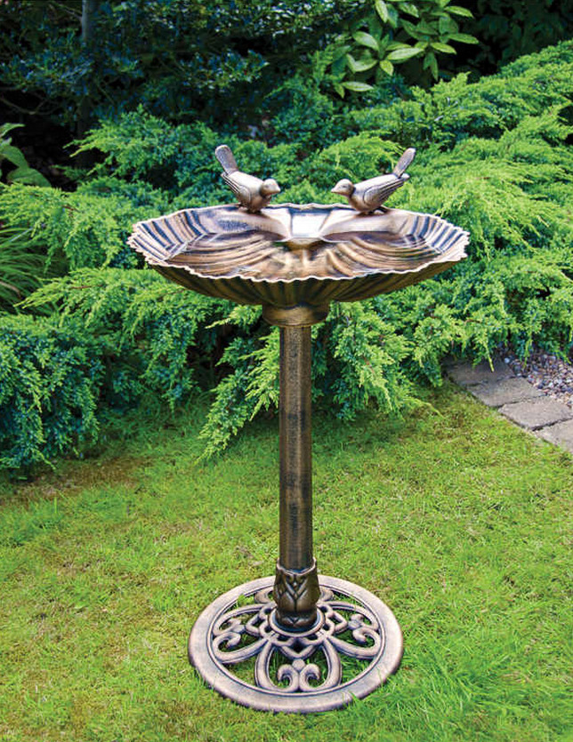 Bird Bath Pedestal Ideas 3