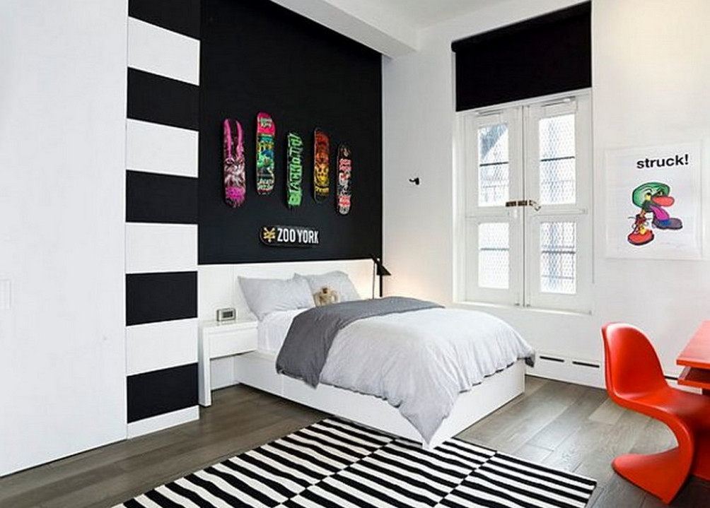 Black and White Painted Rooms4