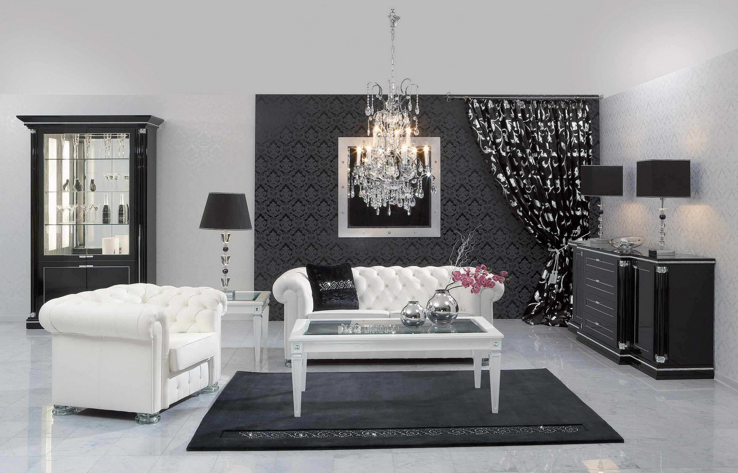 Black and White Painted Rooms7