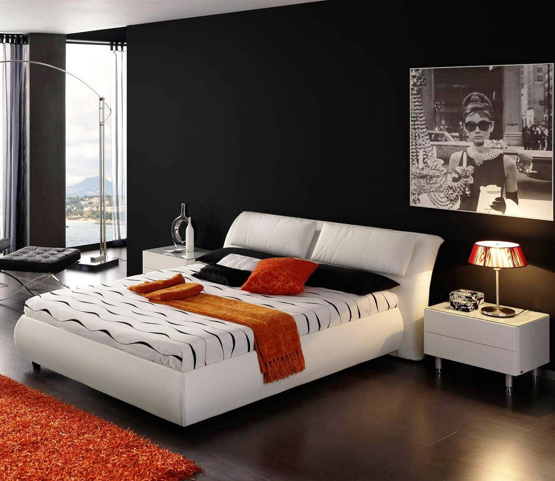 Black and White Painted Rooms8