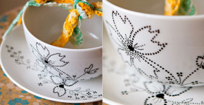 Ceramic Bowl Painting