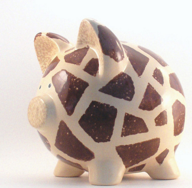 Ceramic Piggy Banks to Paint  3