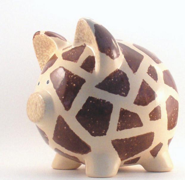 Ceramic Piggy Banks to Paint  3