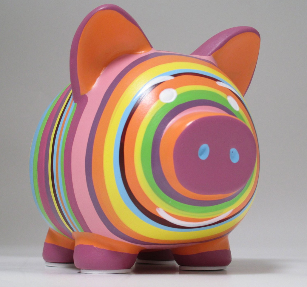 Ceramic Piggy Banks to Paint  5