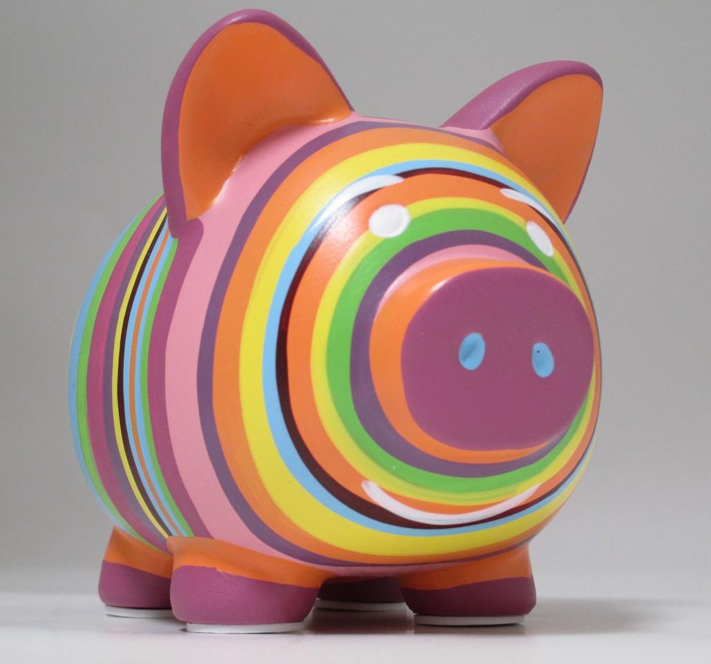 Ceramic Piggy Banks to Paint  5