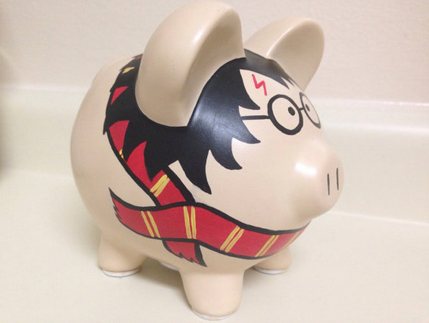 Ceramic Piggy Banks to Paint  7