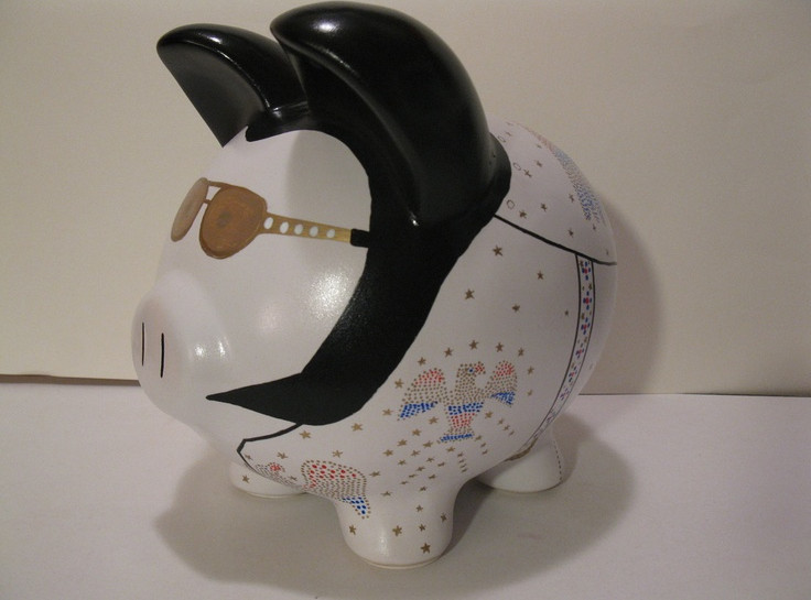 Ceramic Piggy Banks to Paint