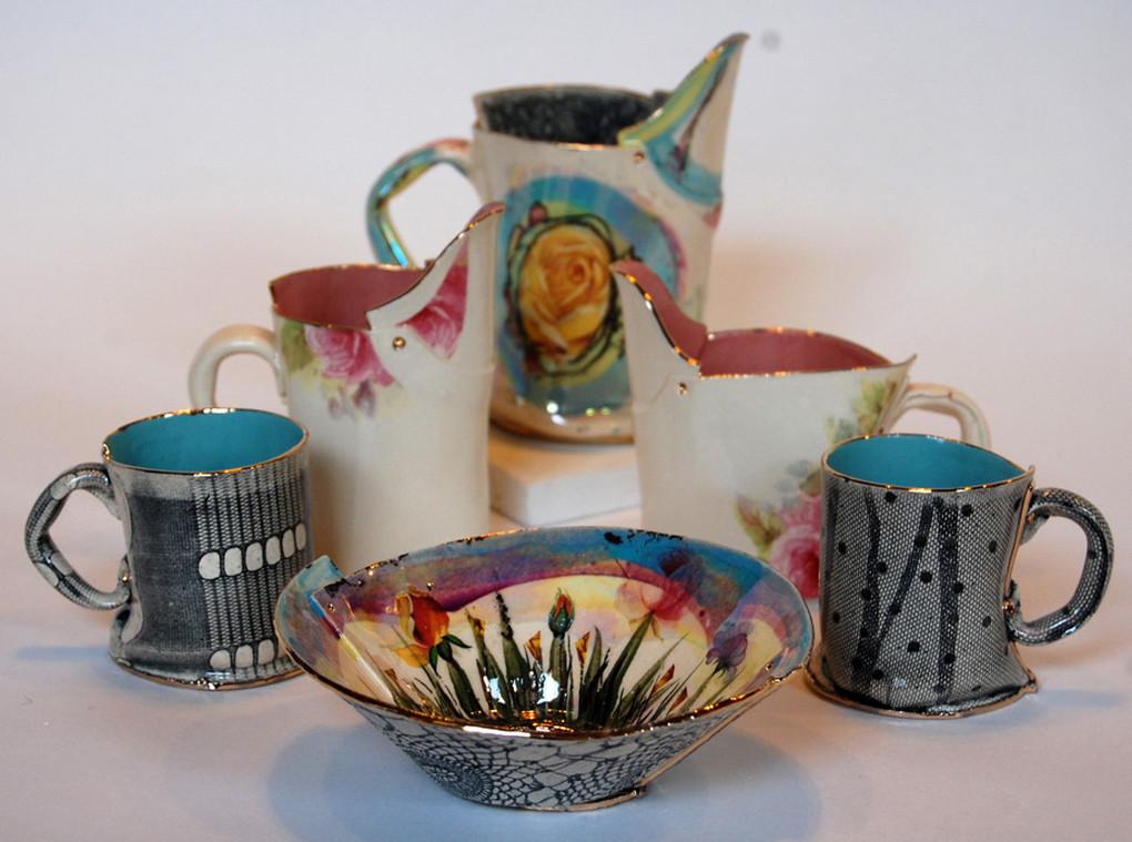 Clay Art Hand Painted Ceramics 5