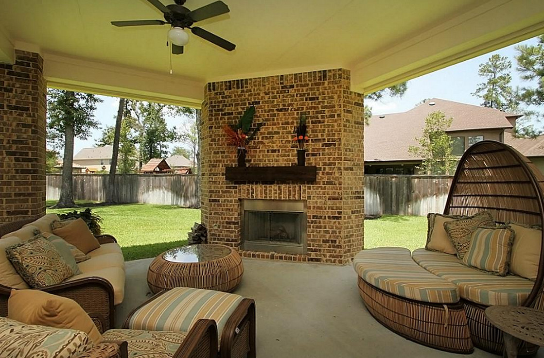 Covered Patios with Fireplaces  4
