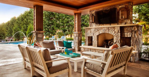 Covered Patios with Fireplaces  6