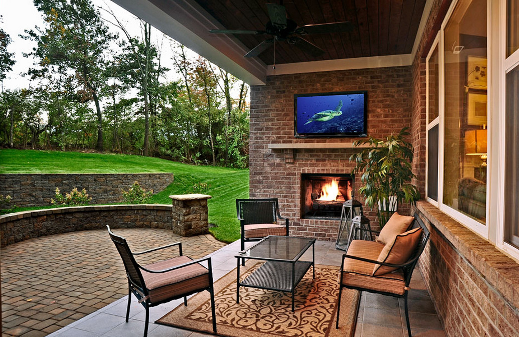 Covered Patios with Fireplaces  7