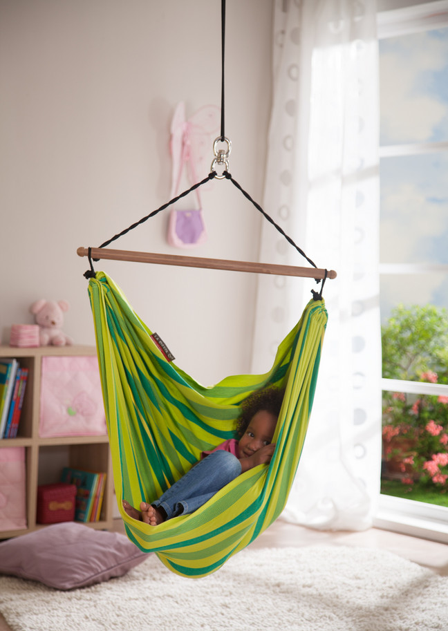 Diy hanging hammock chair ideas interesting ideas for home - Indoor hammock hanging ideas ...